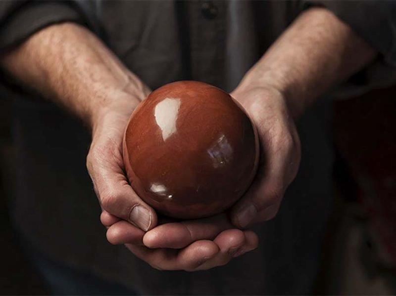 Тщательной полировке…После чего шар превращается в нечто подобное грязь, дороданго, развлечение, шары, япония