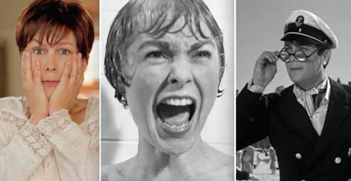 """3. Родители актрисы Джейми Ли Кёртис - Джанет Ли (""""Психо"""" и """"Печать зла"""") и Тони Кёртис (""""В джазе только девушки"""") голливуд, звезды, знаменитости, неожиданно, родственники, семейные узы, семья"""