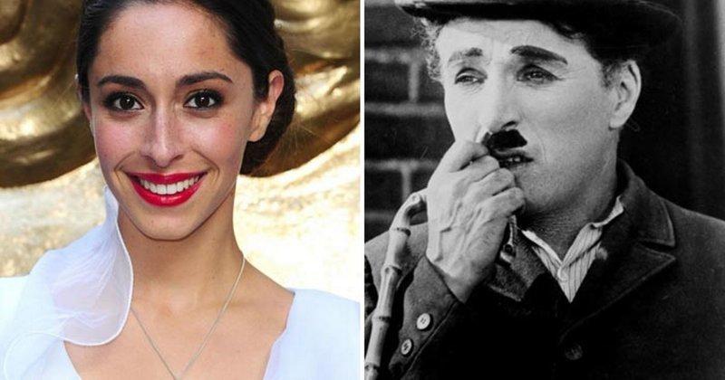 """15. Актриса Уна Чаплин (засветившаяся в """"Игре престолов"""") - внучка Чарли Чаплина голливуд, звезды, знаменитости, неожиданно, родственники, семейные узы, семья"""