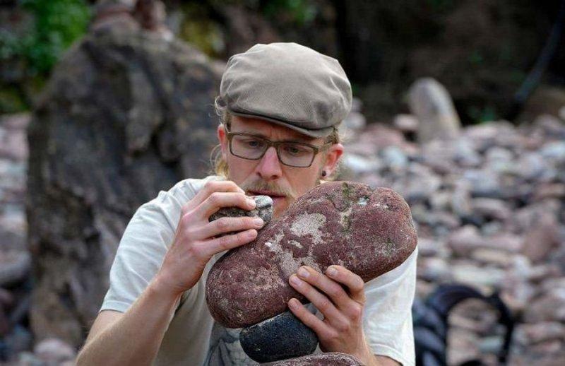 Чемпионат Европы по укладке камней в Данбаре баланс, камень, камни, соревнования, укладка камней, фото, фоторепортаж