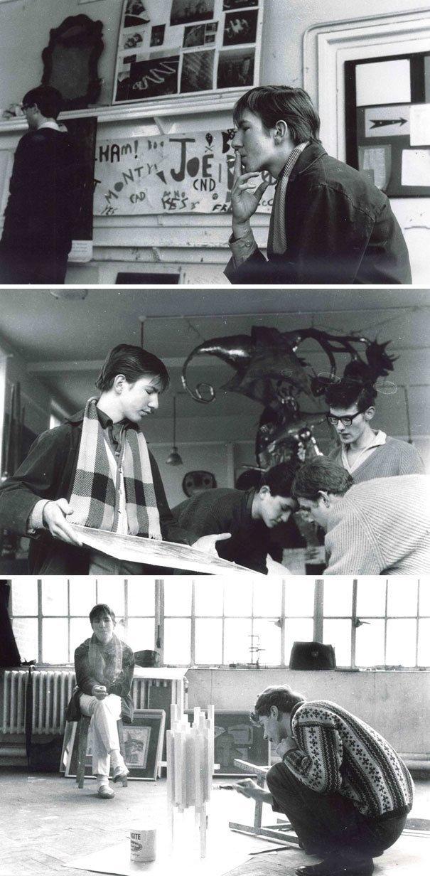 3. Алан Рикман в подростковом возрасте взросление, голливуд, детские фото, знаменитости, изменения