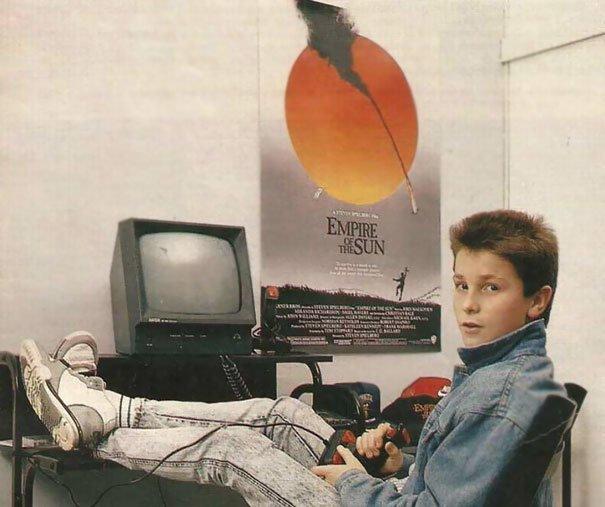 5. Кристиан Бэйл взросление, голливуд, детские фото, знаменитости, изменения
