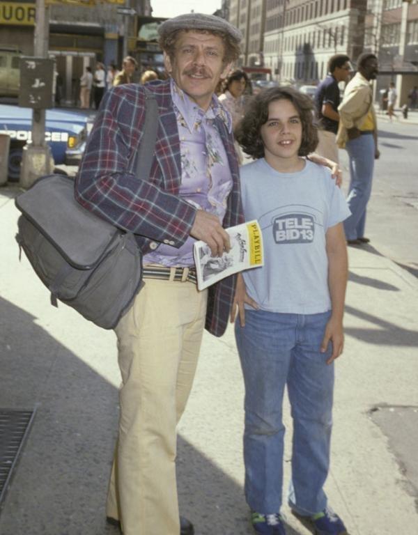 12. Бен Стиллер с отцом взросление, голливуд, детские фото, знаменитости, изменения