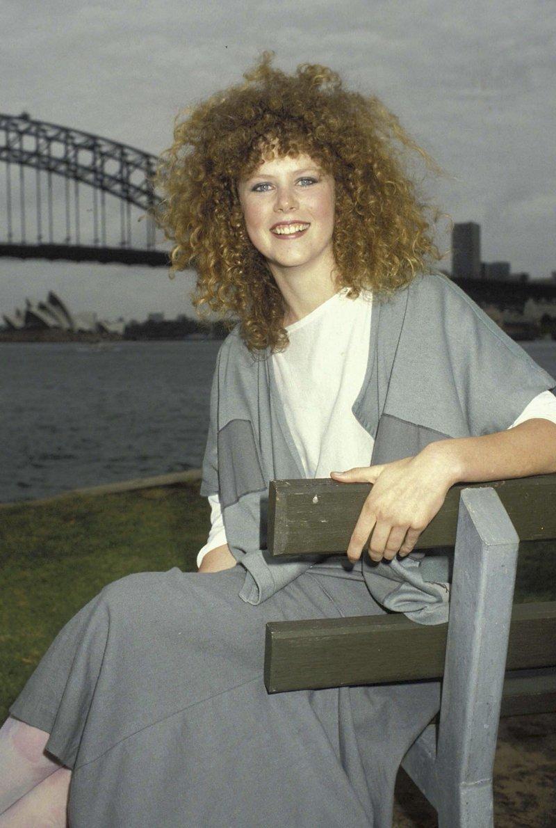 11. Николь Кидман, 1983 год взросление, голливуд, детские фото, знаменитости, изменения