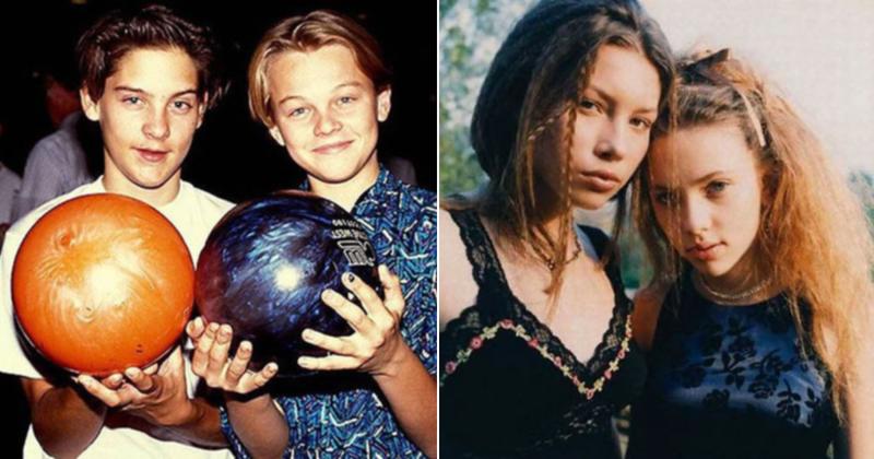 20 фото юных знаменитостей с эффектомностальгии взросление, голливуд, детские фото, знаменитости, изменения