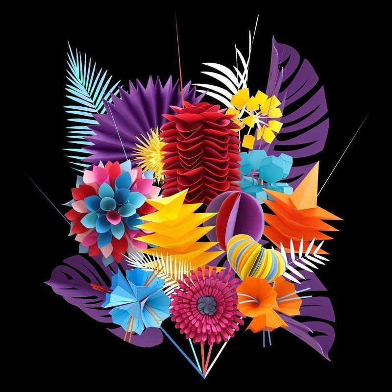 Художница творит природу из бумаги Фигурки из бумаги, бумажная скульптура, бумажные птицы, бумажные цветы, искусство, необычно, оригинально, творчество