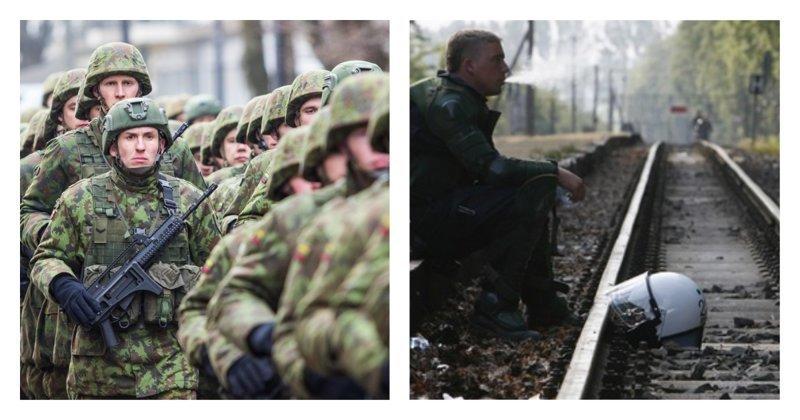 Спасовали: солдаты НАТО в Прибалтике оказались не готовы к старым железным дорогам ynews, армия, железгая дорога, нато, поезда, прибалтика