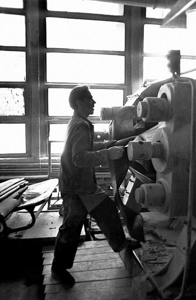 Негламурные советские люди производственных профессий Просто, люди, производство, рабочие, факт, фотографии, эпоха