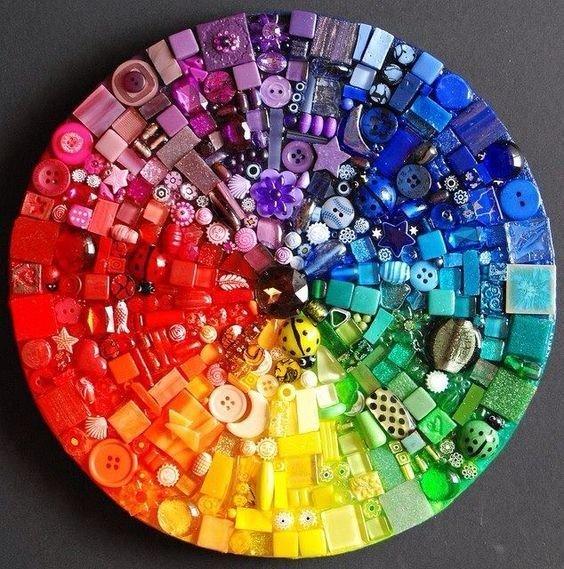 А вот пуговицы Фабрика идей, красота, мастера, радуга, рукоделие