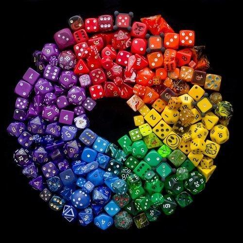 И много костей от разных игр Фабрика идей, красота, мастера, радуга, рукоделие