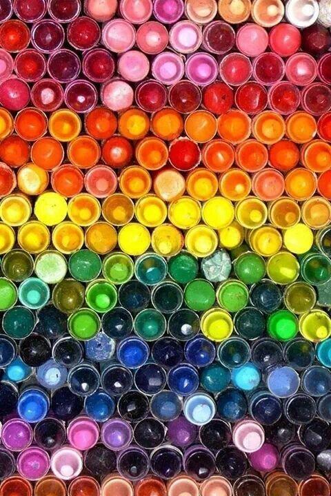А если взять радужную краску Фабрика идей, красота, мастера, радуга, рукоделие