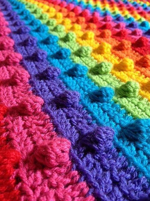 И свяжите радужный шарф Фабрика идей, красота, мастера, радуга, рукоделие