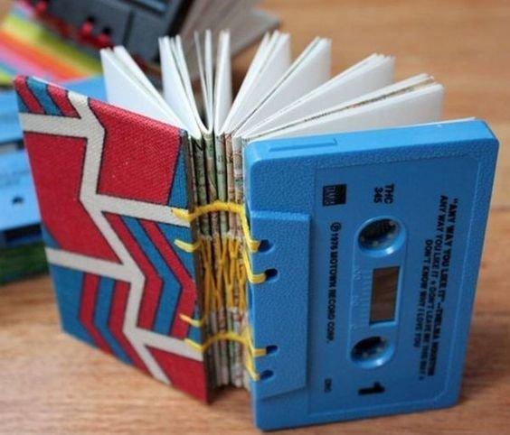 Блокноты Аудиокассеты, Фабрика идей, дизайн, идеи, интересное