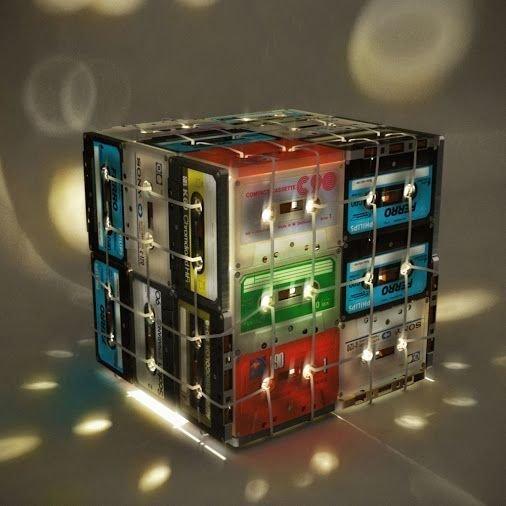 Великолепные светильники Аудиокассеты, Фабрика идей, дизайн, идеи, интересное