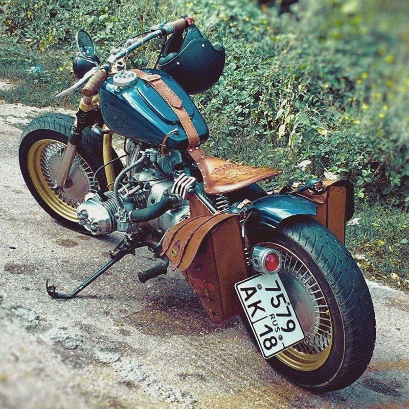 Умельцы начали модифицировать стоковые мотоциклы боббер, мото, мотоцикл, харлей, чоппер