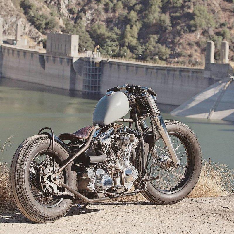 Основная идея Bobber Style — мотоцикл должен самостоятельно доехать до гоночной трассы, а потом отвезти хозяина домой боббер, мото, мотоцикл, харлей, чоппер