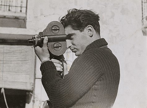 Вот пуля просвистела и товарищ мой упал Роберт Капа, просвистела, пуля, смерть, фотограф