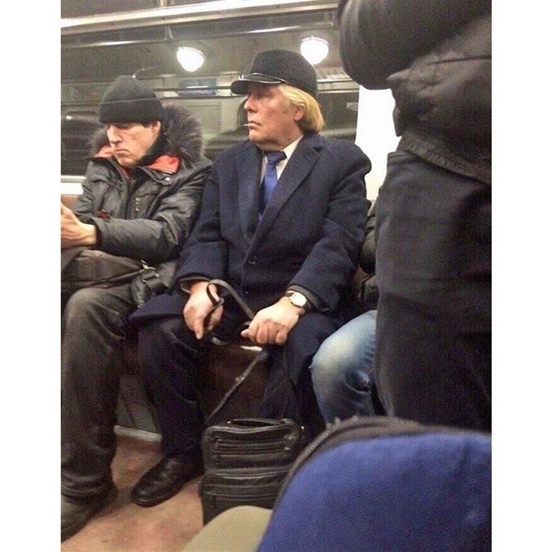Стильно, модно, молодежно: люди российской подземки СПб, люди, метро, мода, москва, настроение, юмор