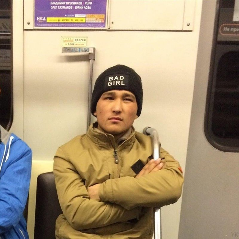 Very, very bad СПб, люди, метро, мода, москва, настроение, юмор