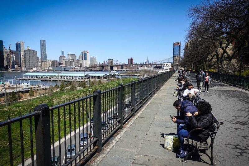 Нью Йорк: весенний Бруклин путешествия, факты, фото