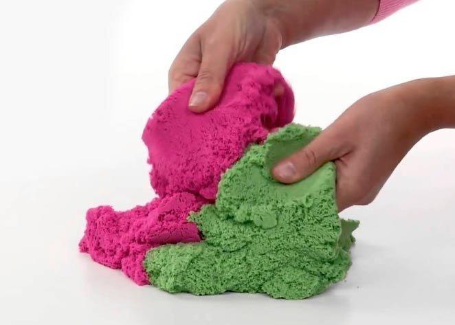 Игры с кинетическим песком Instagram, наши руки не для скуки, расслабляемся, стресс