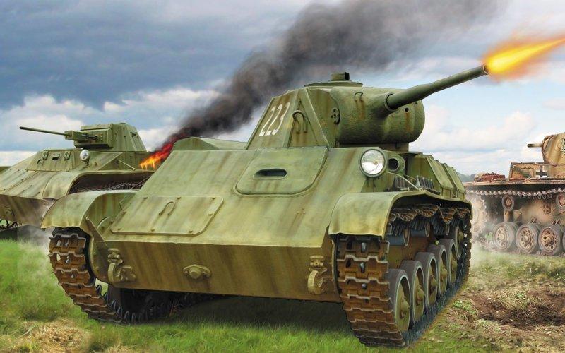 10 танковый корпус. Т-70, музей, танк