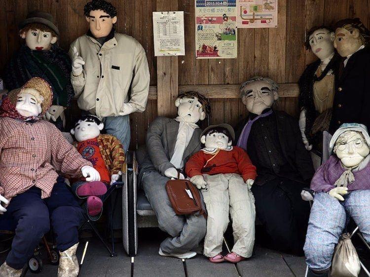 1. Деревня кукол в Японии. Странные места, авто, города, интересно, музей, путешествие, путешествия