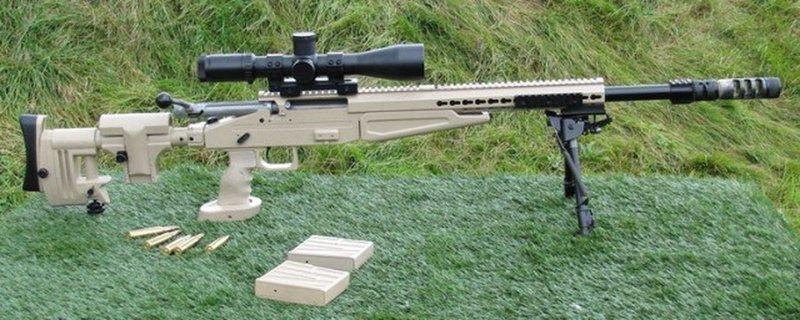 1. ВСВ-338 - убойная новинка от Калашникова ORSIS Т-5000 М, ВСВ-338, снайперская винтовка