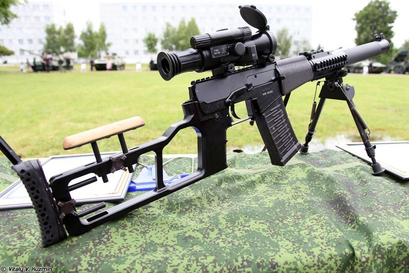 4. ВССМ - бесшумный убийца ORSIS Т-5000 М, ВСВ-338, снайперская винтовка