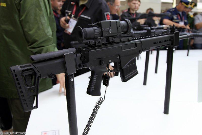 3. СВЧ - достойная наследница СВД ORSIS Т-5000 М, ВСВ-338, снайперская винтовка