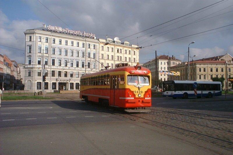 Российские трамваи плохо влияют на репутацию Латвии латвия, репутация, трамвай