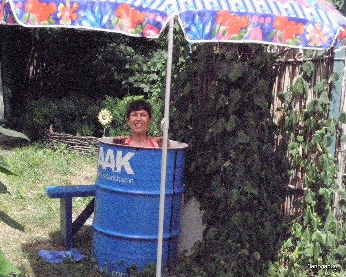 20 дачных бассейнов и летних душей своими руками Фабрика идей, бассейн, дача, душ, красота, лето, своими руками