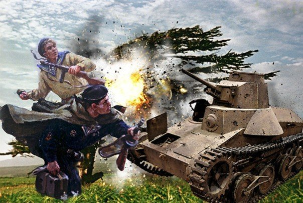 C автоматом против катаны. Как Россия с Курил самураев выгоняла Курилы НАШ, война, сэппуку, япона мама