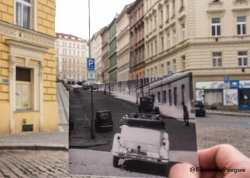 """7. """"Сжигатель трупов"""" (1969 г.)  - чешский фильм о Второй мировой войне воссоздание, интересно, кадры из фильма, кино, красота, места из фильма, прага, фотопроект"""