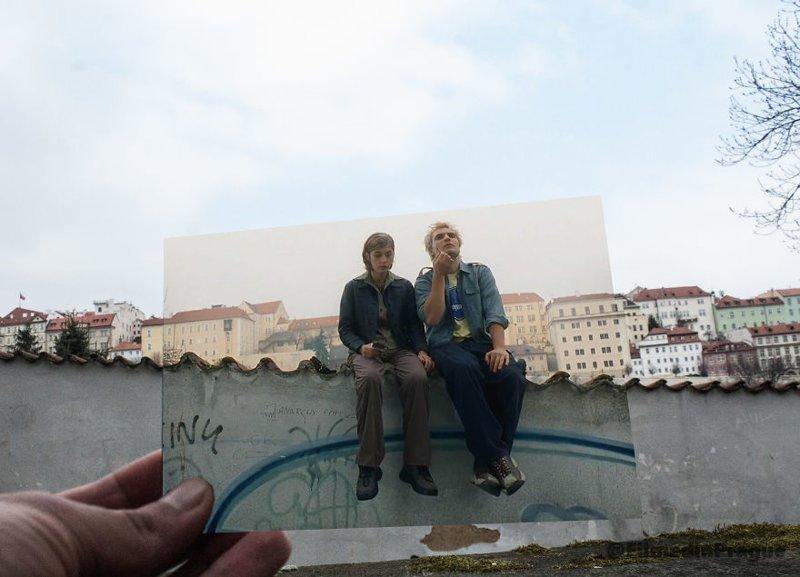 """6. """"Одиночки"""" (2000 г.) - чешская комедия воссоздание, интересно, кадры из фильма, кино, красота, места из фильма, прага, фотопроект"""