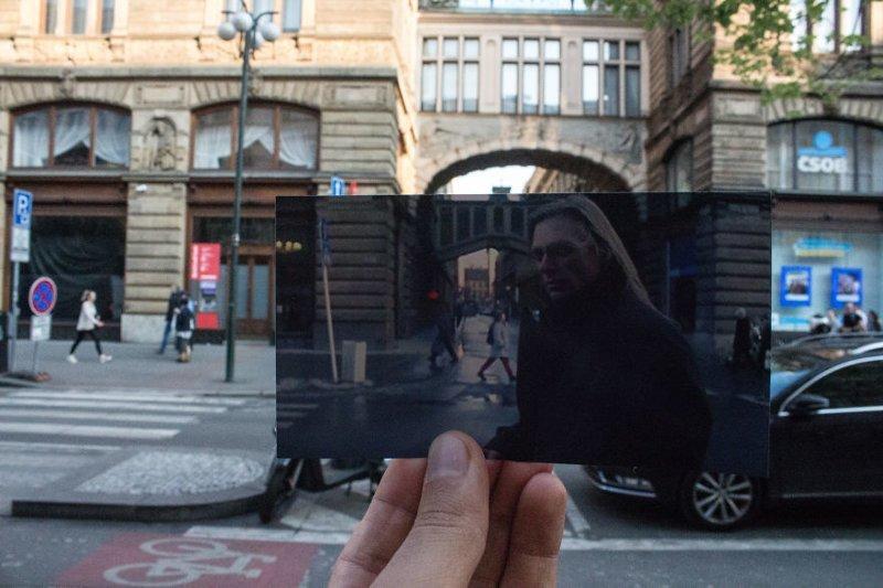 """8. Фильм """"Миссия невыполнима"""" (1996 г.) также частично снимался в Праге воссоздание, интересно, кадры из фильма, кино, красота, места из фильма, прага, фотопроект"""
