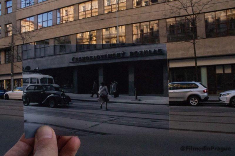 """9. """"Протектор"""" (2009 г.) - история о чехе, который пытается защитить свою жену-еврейку во время немецкой оккупации воссоздание, интересно, кадры из фильма, кино, красота, места из фильма, прага, фотопроект"""