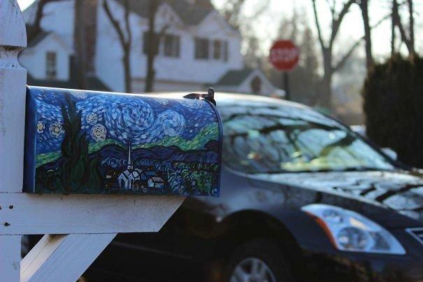 4.  вот это да!, креатив на улице, креатив умельцы, наши руки не для скуки, необычное в обычном, почтовые ящики, почтовый ящик, смелое решение