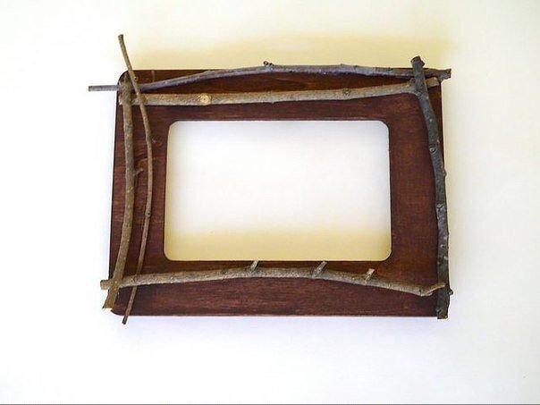 Креативная рамка для фотографий своими руками diy, handmade, креатив, рукоделие, своими руками, сделай сам