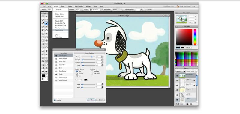 SUMO Paint векторные редакторы, графические редакторы, онлайн-редакторы, онлайн-утилиты, полезный софт, растровые редакторы, редакторы