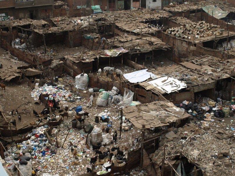 Забалин (мусорщики) , Египет, Каир. Когда поедете смотреть на пирамиды, знайте, рядом с вами вот это грязь, изнанка, курорты, нищета, путешествия, трущобы