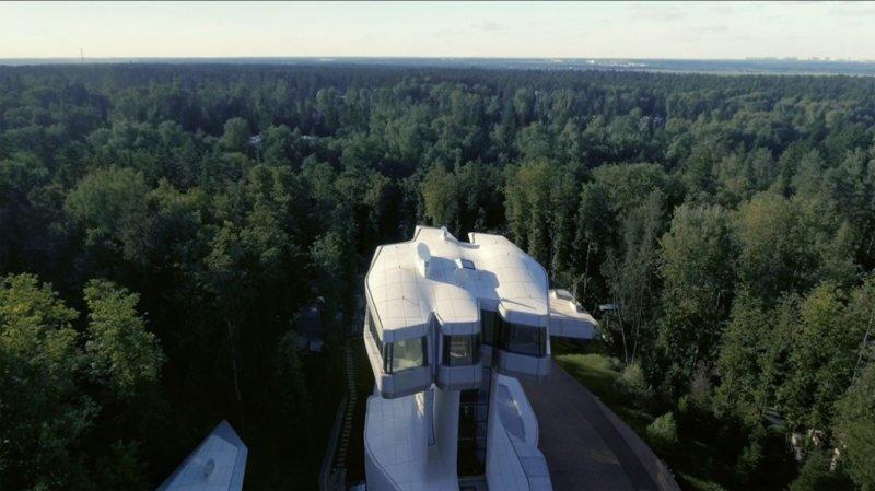 Вячеслав Доронин показал новый дом стоимостью 140 миллионов долларов Вячеслав Доронин, Заха Хадид, архитектура, барвиха, дом, строительство