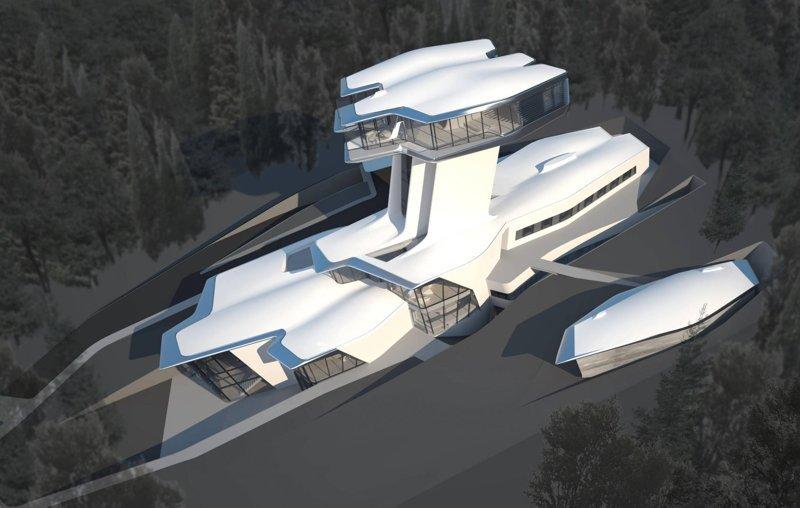 Проект дома Вячеслав Доронин, Заха Хадид, архитектура, барвиха, дом, строительство