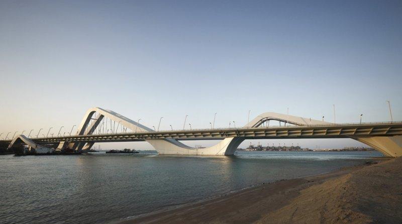 Мост шейха Зайда, Абу-Даби Вячеслав Доронин, Заха Хадид, архитектура, барвиха, дом, строительство