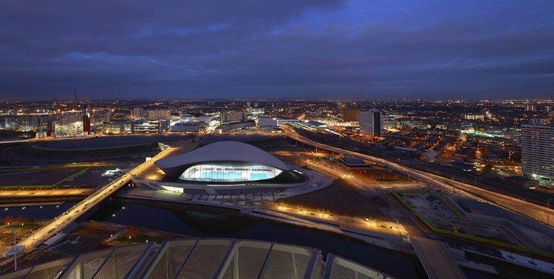 Центр водных видов спорта в Лондоне Вячеслав Доронин, Заха Хадид, архитектура, барвиха, дом, строительство