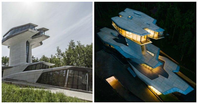 Владислав Доронин показал новый дом стоимостью 140 миллионов долларов Владислав Доронин, Заха Хадид, архитектура, барвиха, дом, строительство