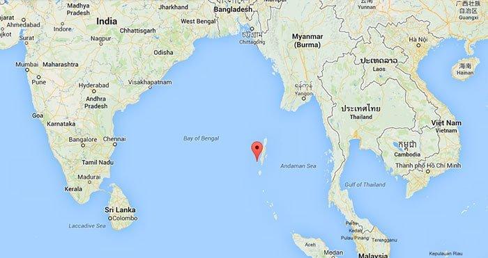 Это Северный Сентинельский остров, который является одним из Андаманских островов, расположенных в Индийском океане в мире, интересно, люди, племя, факты