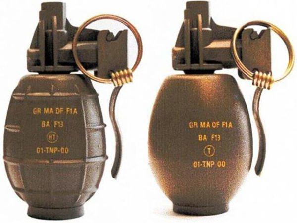 Пластмассовая с проволокой LU 213, MK3, Ручные гранаты