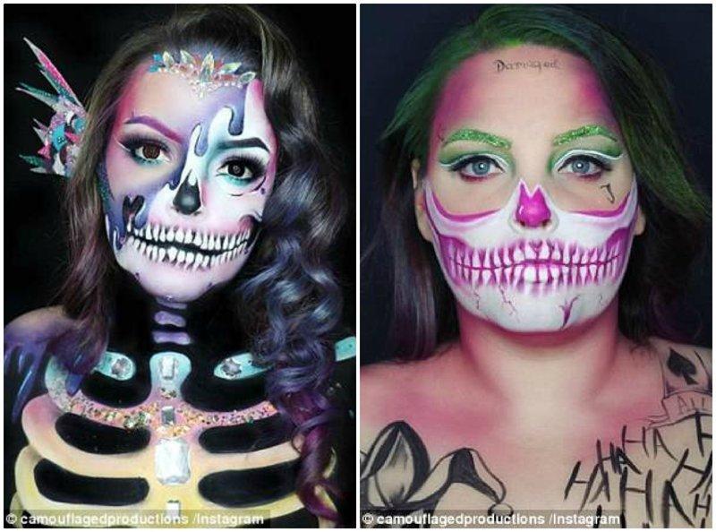 Образ зомби-русалки визажист, визажисты, грим, девушка, косметика, красота, макияж, фото