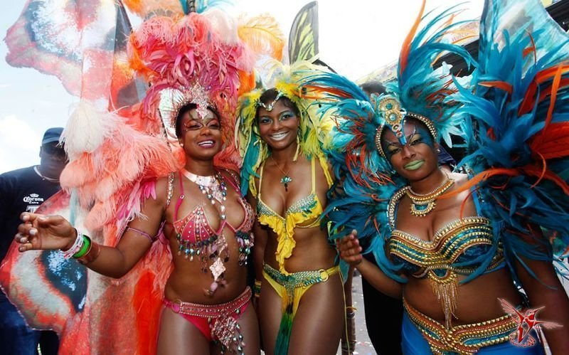 Без сисег и рассказ, не рассказ. Карнавал в Тринидад и Табаго.  заграница, истории, труд, чтиво